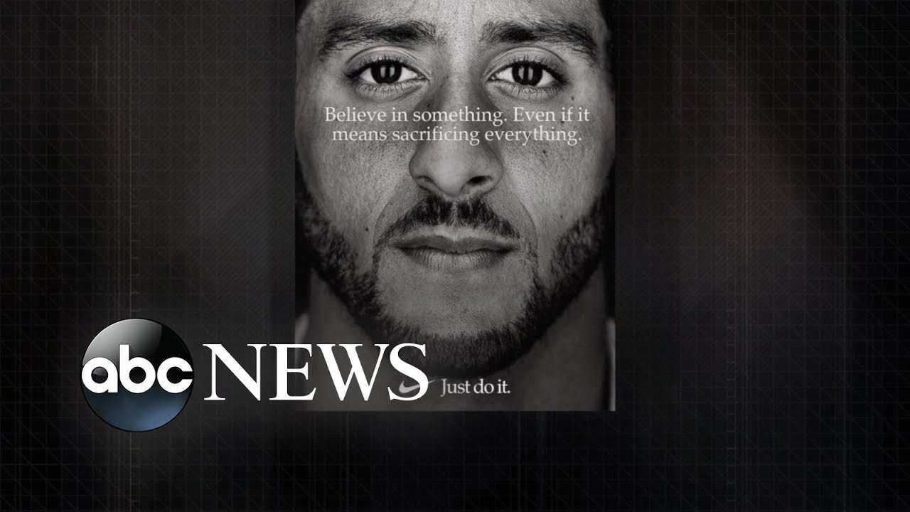 Colin Kaepernick New Face Of Nike S Just Do It Campaign Youtube