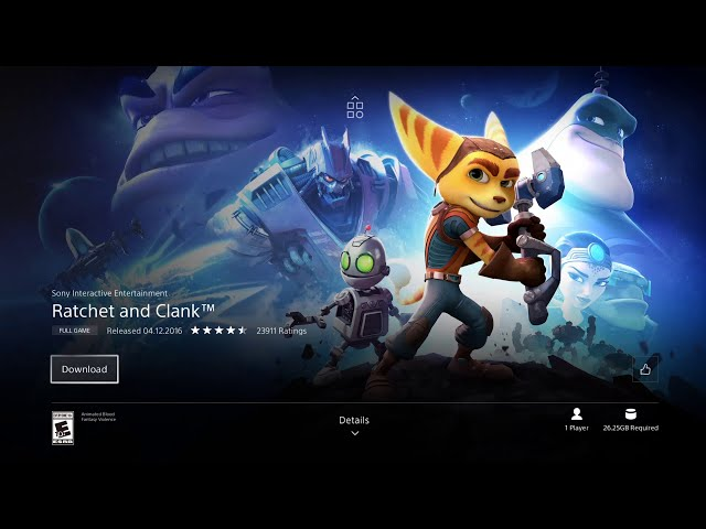 Ratchet and Clank is free for download