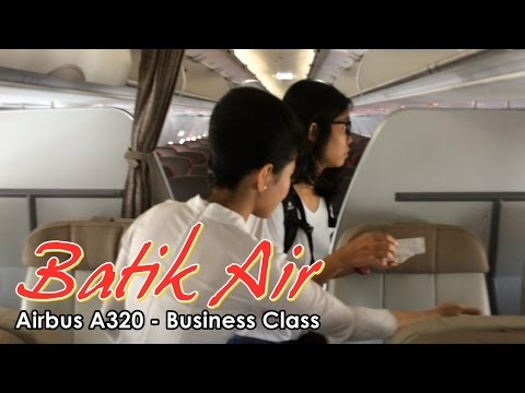 Flight Trip - Batik Air Business Class Experience Airbus A320 to Jogjakarta