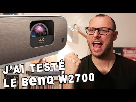 TEST Videoprojecteur 4K !  BenQ W2700