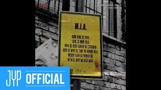 "Stray Kids 2ND MINI ALBUM ""I am WHO"" Inst. Lyric Card 6 ""M.I.A."""
