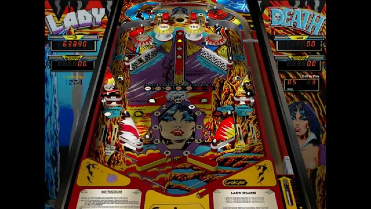 Lady Death (pinball table) - YouTube