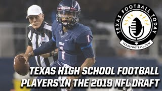 Texas high school football players to watch for in this year's NFL draft