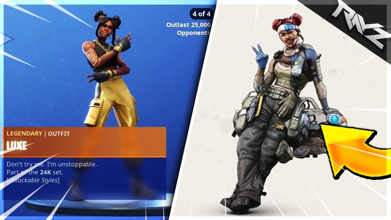 Fortnite Accused Of Ripping Off Apex Legends New Leaks Show Similar