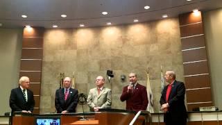 RIVERSIDE COUNTY: Supervisor Bob Buster Says Farewell