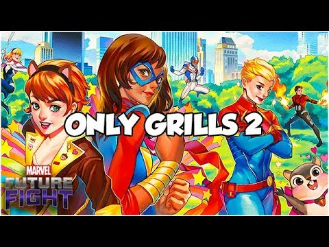 ONLY GRILLS 2 (THE BBQ) - Marvel Future Fight