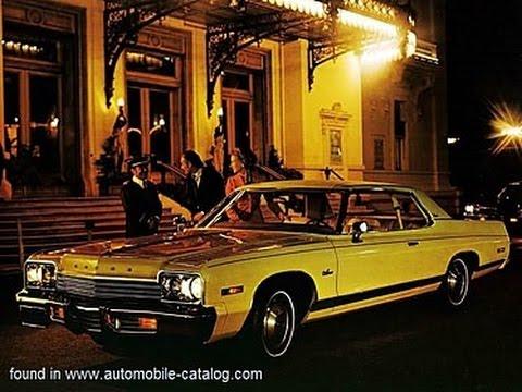 1974 Dodge Monaco Commercial Hotel Metropole Monte
