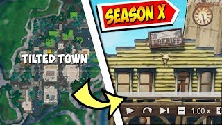 'NOUVEAU' TILTED TOWN!!! WILD WEST VERSION de Neo Tilted LEAKED - Fortnite