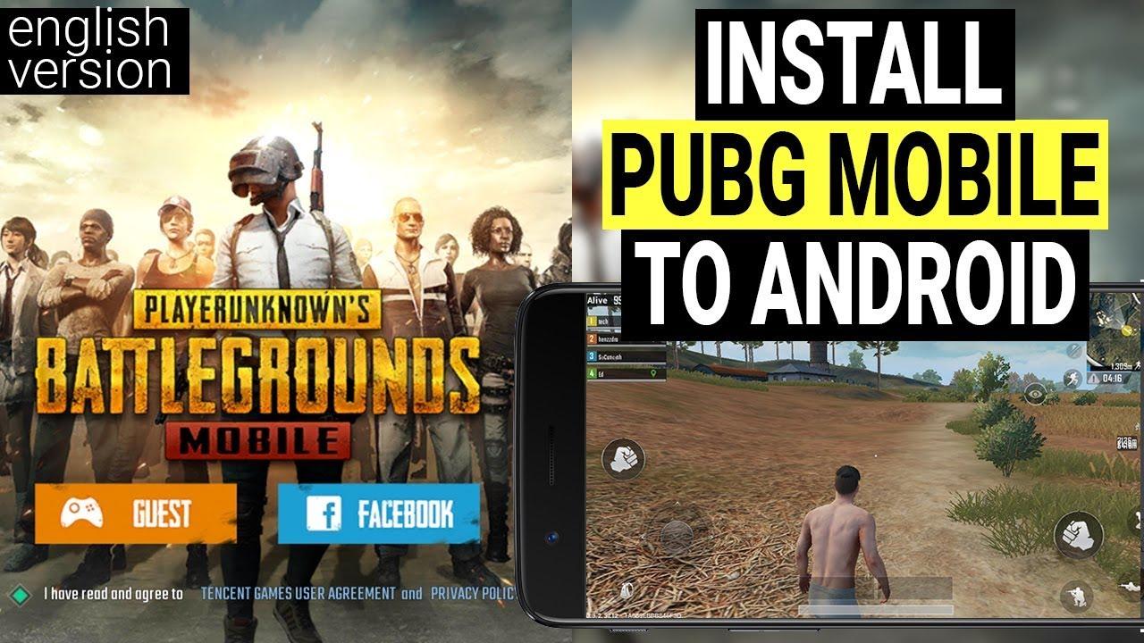 Pubg Mobile English Version