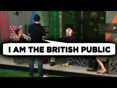 Gary and George's public disagreement | Day 25, Celebrity Big Brother