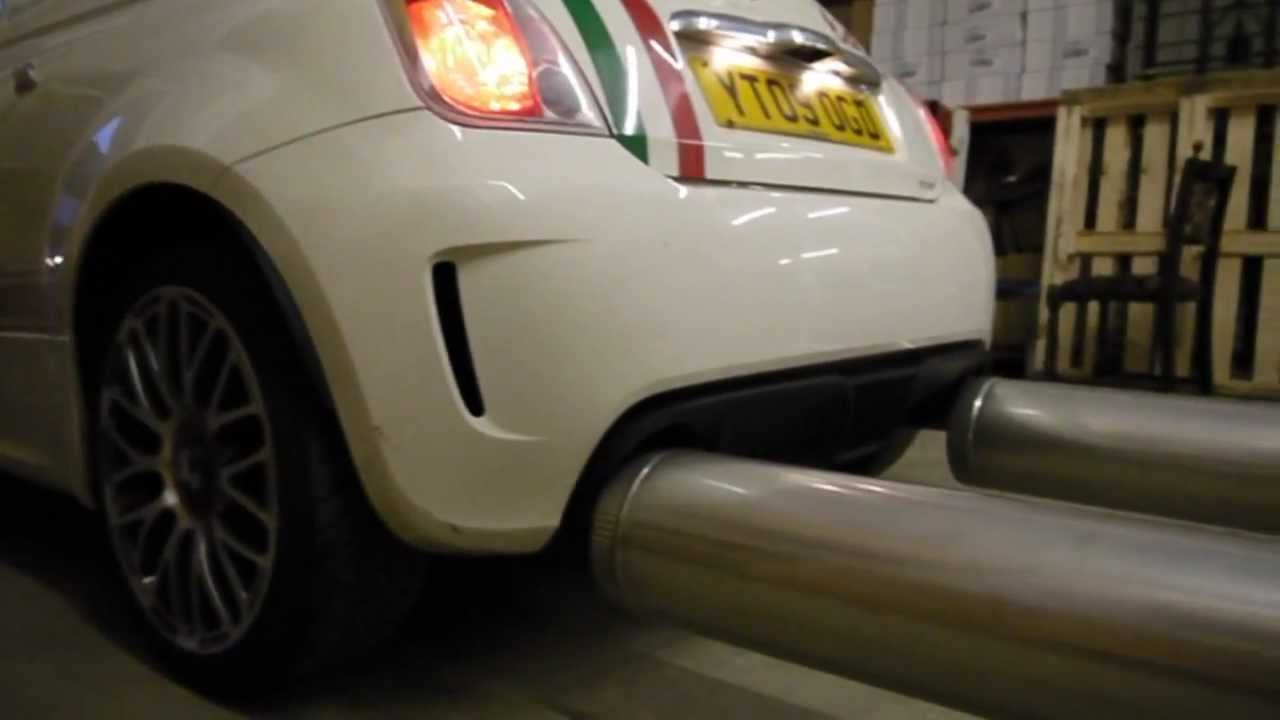 World's Biggest Car Exhaust! WOW! - YouTube