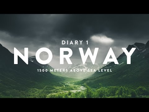 NORWAY DIARY (1/3) | 1500 METERS ABOVE SEA LEVEL