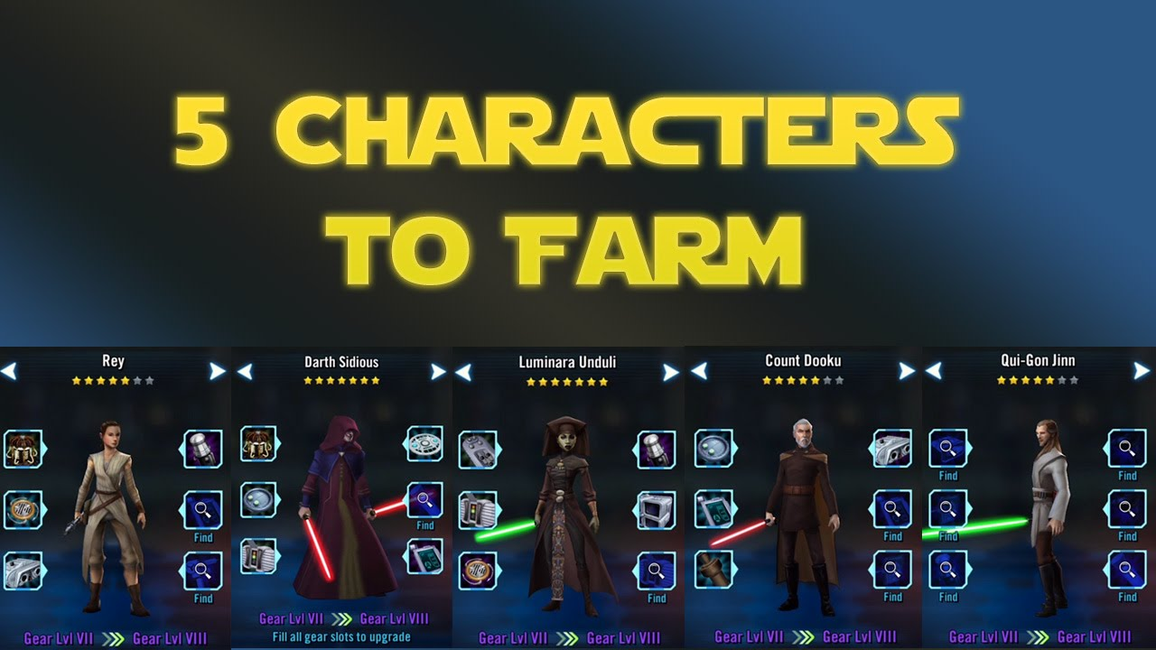 Star Wars Galaxy of Heroes for PC (Windows and Mac)