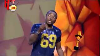 THE HEADIES 2015 MOMENTS BOVI JOKES ABOUT BEEFS IN 2015 Nigerian Comedy