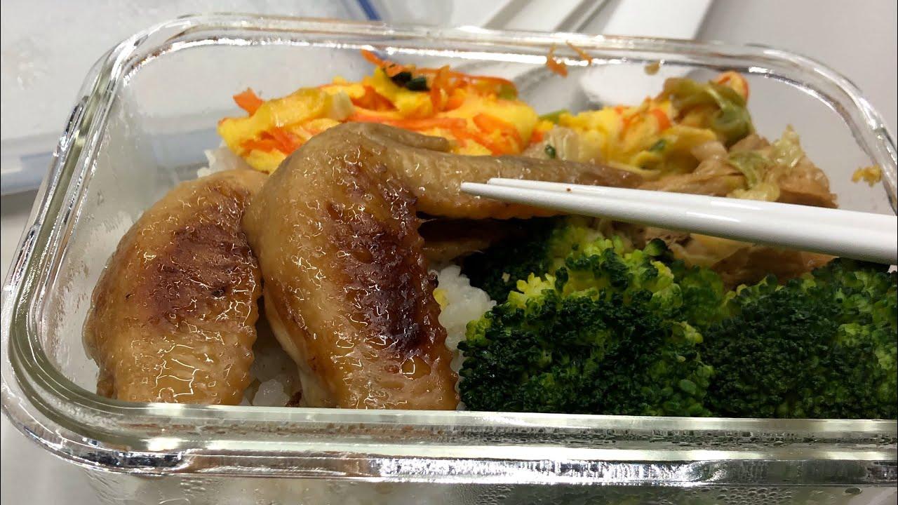 上班族的一日三餐 高麗菜煎餅 雞肉炊飯 柴犬小卡