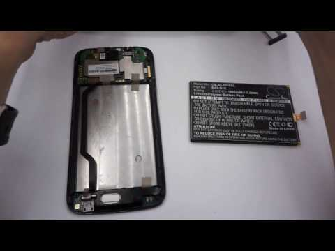 ACER Liquid Jade S battery replacement || How to replace Cameron Sino battery CS-ACS550SL