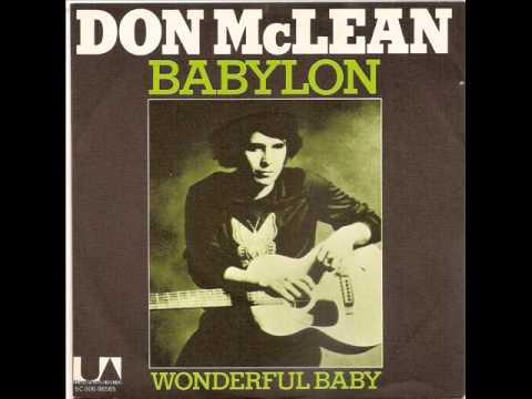 Don Mclean, WPLJ FM, A & R Studios, 12/28/71, New York City, NY