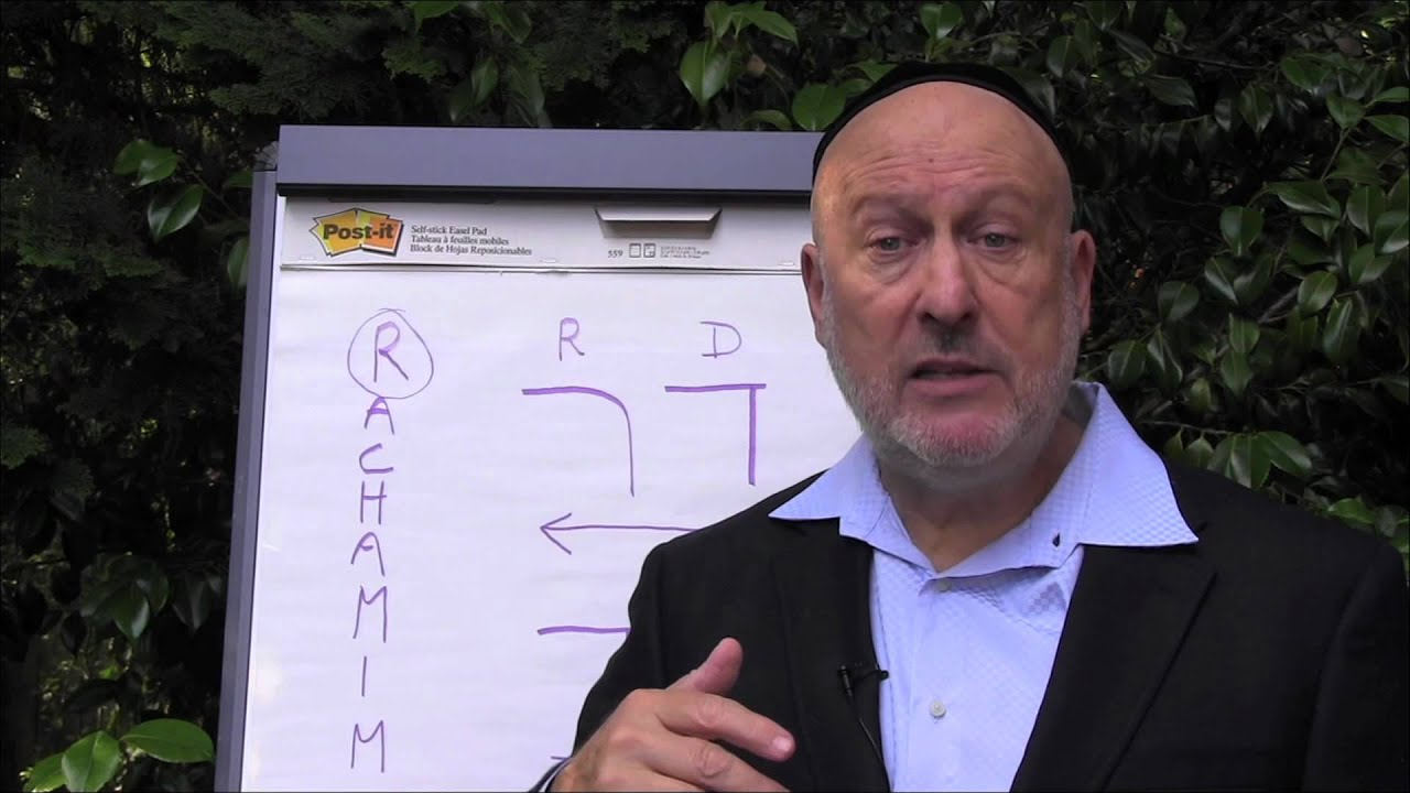A Hebrew Word teaching by Rabbi Daniel Lapin