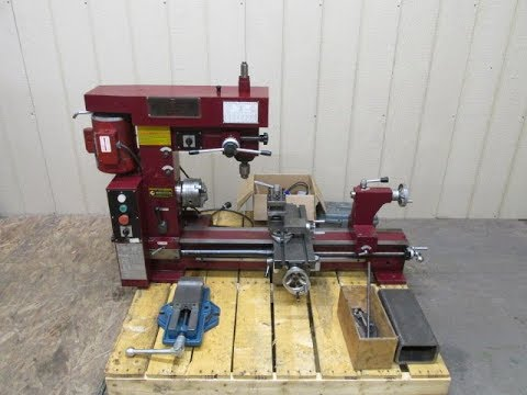 Central Machinery Multi-Purpose Lathe Mill Milling Machine Combo 3 in 1 Smithy