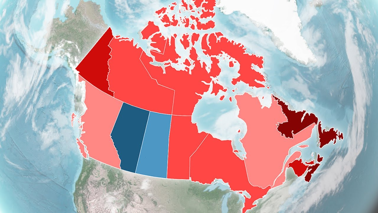 Canadian Federal Election Results (1867-2015) - YouTube on