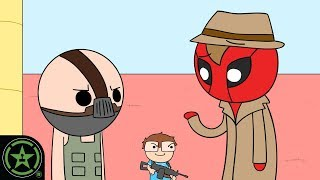 Deadpool, Bane y Gatos! - AH Animados