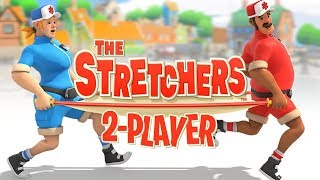 The Stretchers- #1 - CRAZY TAXI with AMBLULANCES?! (Co-op Gameplay)