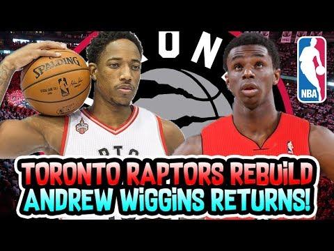ANDREW WIGGINS RETURNS TO CANADA! TORONTO RAPTORS REBUILD! NBA 2K18 MY LEAGUE
