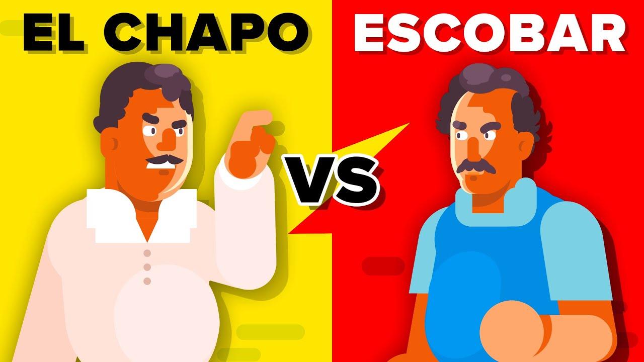 El Chapo Versus Pablo Escobar - How Do They Compare? - YouTube