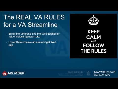 va-streamline-refinance-program-rules