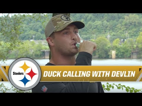 devlin-hodges:-quarterback-&-world-champion-duck-caller- -pittsburgh-steelers
