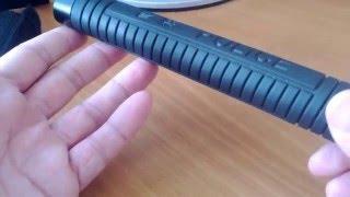 Видео обзор . Телескопическая стальная дубинка. Video review telescopic steel batons(Одним из эффективных средств для самозащиты на сегодняшний день считается телескопическая дубинка. Это..., 2016-03-10T18:44:45.000Z)
