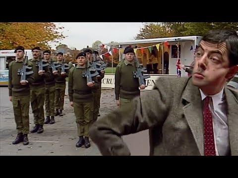 The ARMY Are Here Mr Bean! | Mr Bean Full Episodes | Mr Bean Official | Classic Mr Bean