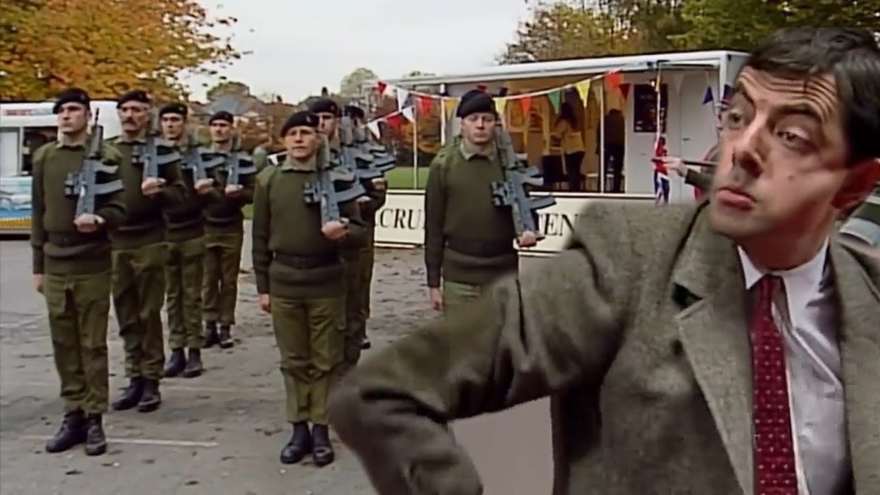 The ARMY Are Here Mr Bean!   Mr Bean Full Episodes   Mr Bean Official   Classic Mr Bean