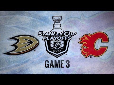 Anaheim Ducks Vs. Calgary Flames Game 3   NHL Game Recap   April 17, 2017   HD