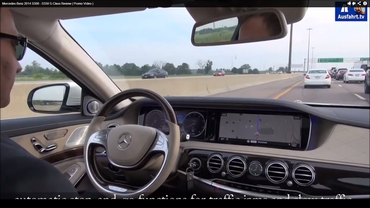 Mercedes-Benz 2014 S500 - S550 S-Class Review ( Promo Video ) - YouTube