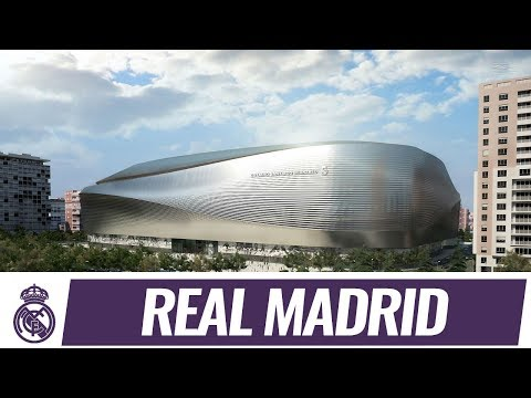 The future Santiago Bernabéu stadium ⚽️