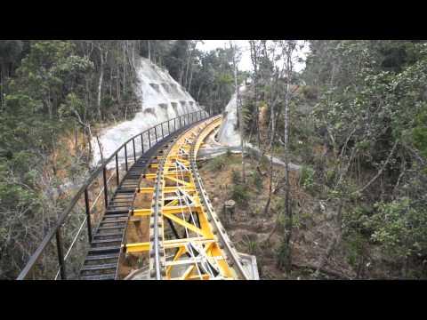 Đi xe lửa leo núi ở Bà Nà Hills ( Funicular Station )
