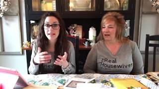 Flosstube #40: Priscilla & Chelsea-The Real Housewives of Cross Stitch