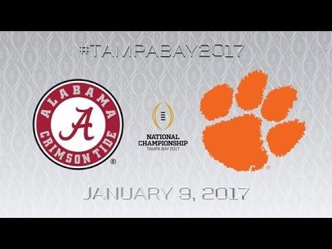 2017 NATIONAL CHAMPIONSHIP TRAILER // #1 Alabama Crimson Tide vs #2 Clemson Tigers