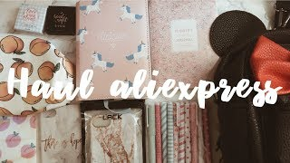 HAUL ALIEXPRESS | BACK TO SCHOOL/PAPELERIA KAWAII