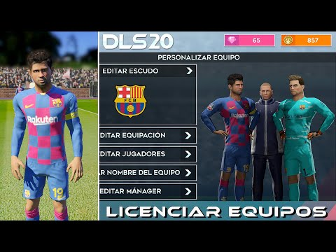 barcelona equipacion dream league 2020
