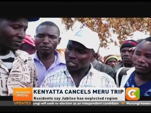 President Kenyatta cancels visit to Meru, Tharaka Nithi counties