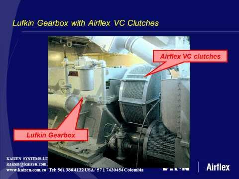 Eaton Airflex Marine Transmission Clutches for Lufkin Falk Ulstein Philadelphia Gear Schottel.wmv