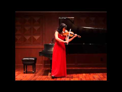 V. Barkauskas:  Partita for Solo Violin, Op. 12 - Annelle K. Gregory, violin