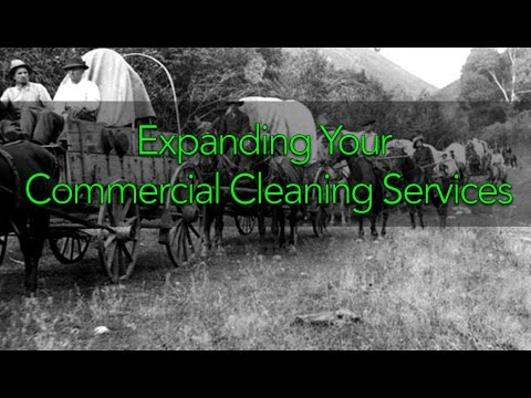 Expanding Your Commercial Cleaning Services featuring Mike