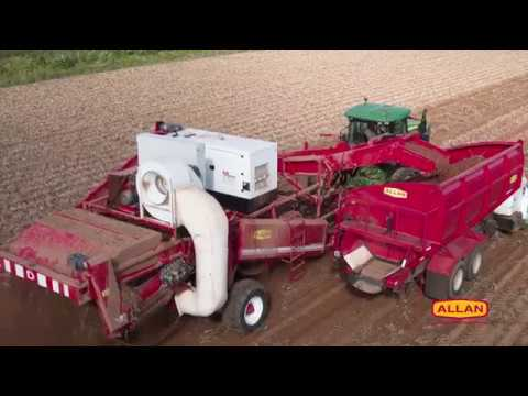 Allan Equipment 4 Row Specialty Potato Harvester