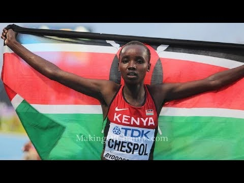 Celliphine Chespol Wins SENIOR WOMEN 10KM AFRICA CROSS COUNTRY CHAMPIONSHIP CHLEF 2018