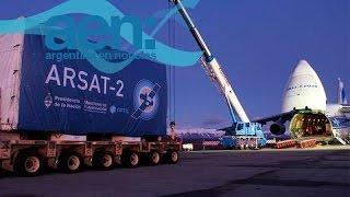 Arsat II en la cuenta regresiva para su lanzamiento - AEN 30-09 18HS.