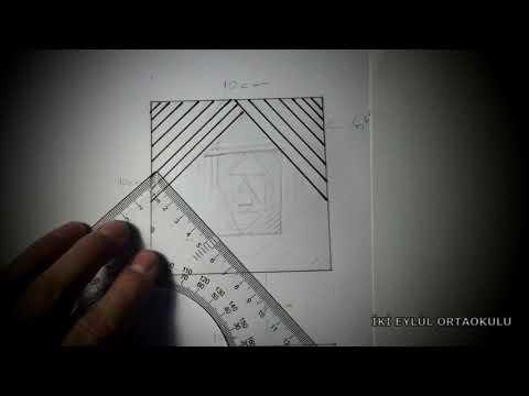 Çok kolay üçgen optik illüzyon çizimi /nasıl çizilir