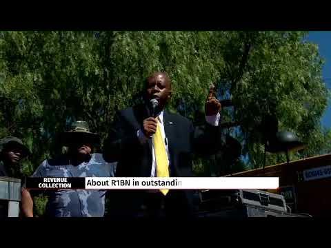 Mashaba leads R1 billion revenue collection blitz